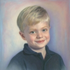 Christopher, pastel portrait