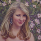 Allison, pastel portrait