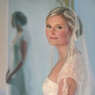 Bride, 3/4-length pastel portrait
