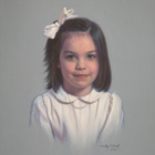 Day, pastel portrait