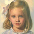 Grace, pastel portrait